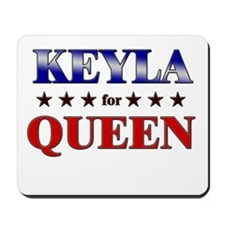 KEYLA for queen Mousepad