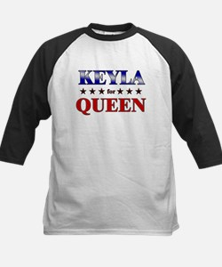 KEYLA for queen Kids Baseball Jersey