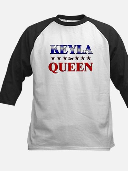 KEYLA for queen Kids Baseball Jersey