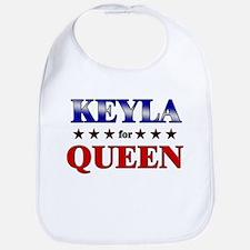 KEYLA for queen Bib