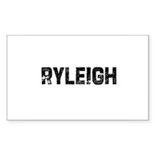 Ryleigh Rectangle Decal