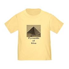 Pyramids of Giza T