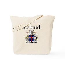 Iceland Crest Tote Bag