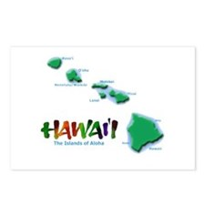 Hawaii Islands Postcards (Package of 8)
