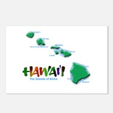 Hawaii Islands Postcards (Package of 8)