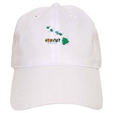 Hawaii Islands Baseball Cap