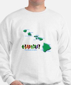 Hawaii Islands Sweatshirt