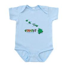 Hawaii Islands Infant Bodysuit