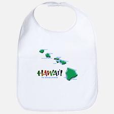 Hawaii Islands Bib