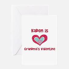 Kaden is Grandma's Valentine Greeting Card