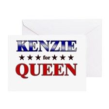 KENZIE for queen Greeting Card