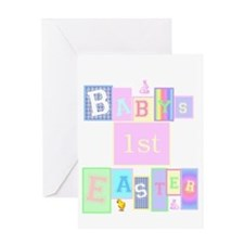 easter_babysfirst2 Greeting Cards