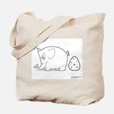 Large Egg - Tote Bag