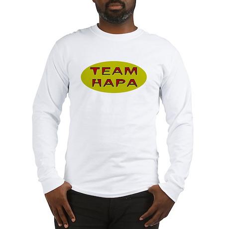 Team Hapa Long Sleeve T-Shirt