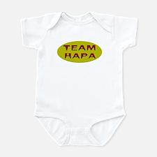 Team Hapa Infant Bodysuit