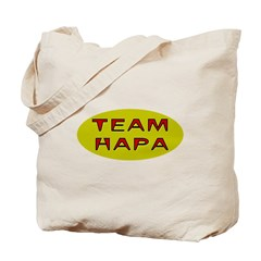 Team Hapa Tote Bag