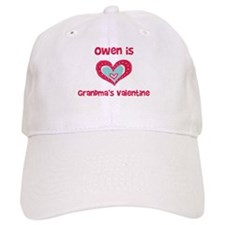 Owen is Grandma's Valentine Baseball Cap