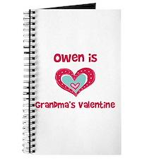 Owen is Grandma's Valentine Journal