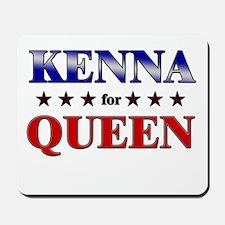 KENNA for queen Mousepad