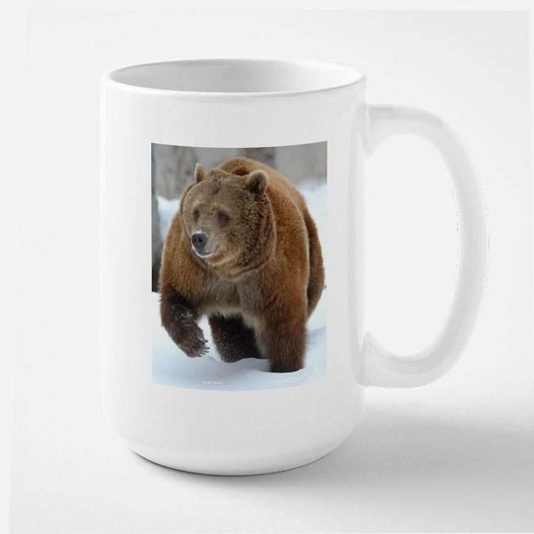 Snow Bear Large Mug
