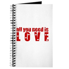 all you need is love Journal