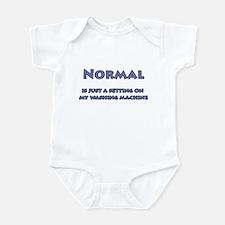 Normal Blue Infant Bodysuit