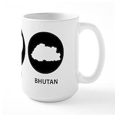 Peace Love Bhutan Mug