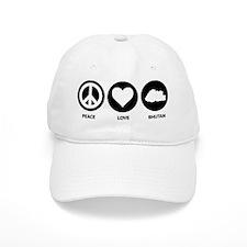 Peace Love Bhutan Baseball Cap