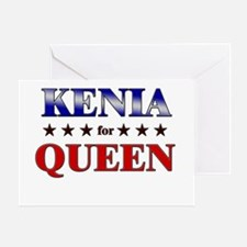 KENIA for queen Greeting Card