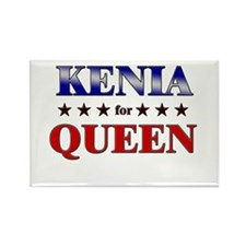 KENIA for queen Rectangle Magnet