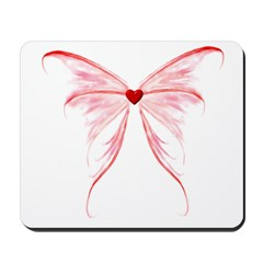 winged heart Mousepad