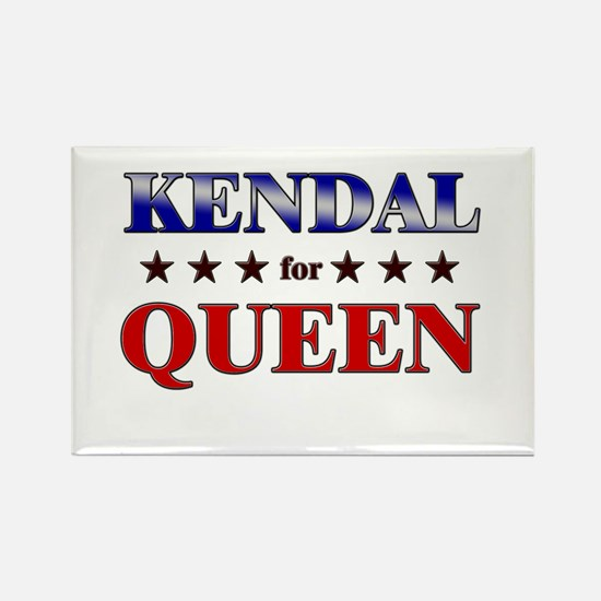 KENDAL for queen Rectangle Magnet