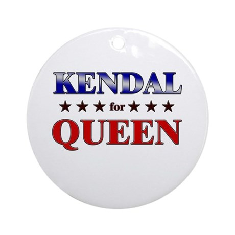 KENDAL for queen Ornament (Round)