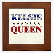 KELSIE for queen Framed Tile