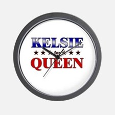 KELSIE for queen Wall Clock