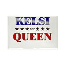KELSI for queen Rectangle Magnet