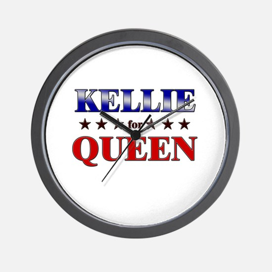 KELLIE for queen Wall Clock
