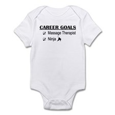Massage Therapist Career Goals Infant Bodysuit