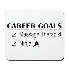 Massage Therapist Career Goals Mousepad