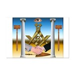 Masonic Mini Poster Print