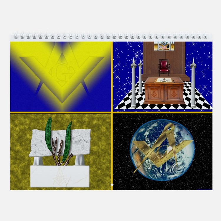 Masonic Wall Calendar (12 different pictures)