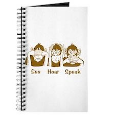 See No Evil Monkey Journal
