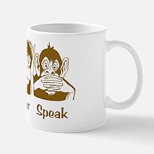 See No Evil Monkey Mug