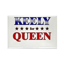 KEELY for queen Rectangle Magnet
