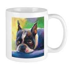 Boston Terrier Dog #11 Mug