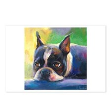 Boston Terrier Dog #11 Postcards (Package of 8)