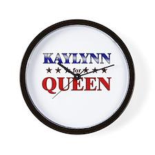 KAYLYNN for queen Wall Clock