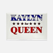 KAYLYN for queen Rectangle Magnet