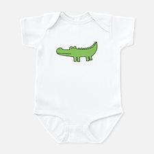 """""""allie gator"""" Infant Bodysuit"""