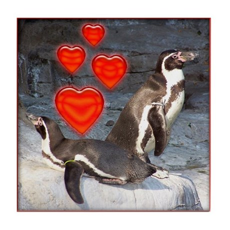 Valentine's Day Tile Coaster